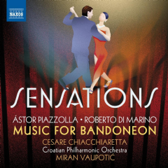 Cesare Chiachiaretta / Bandoneon / Croat - Sensations: Music For Bandoneon (CD)