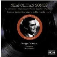 Neapolitan Songs - Di Stefano/oliviera (CD)