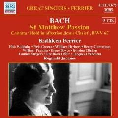 Bach: St Matthew Passion - St Matthew Passion (CD)
