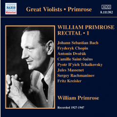 Primrose: Recital Vol1 - Recital - Vol.1 (CD)