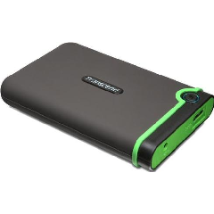 "Transcend 1TB Rugged USB3.0 Hard Drive 2.5"" - Military Green"
