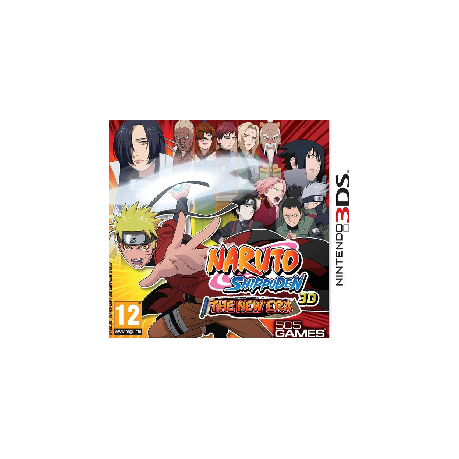 7fbee740ab1f0 Naruto Shippuden 3D - The New Era (Nintendo 3DS)