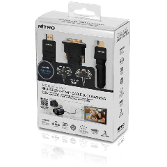 Nitho SERIES 300 PROFESSIONAL HDMI CABLE with DVI CONVERTER   - Accessory (PS3)