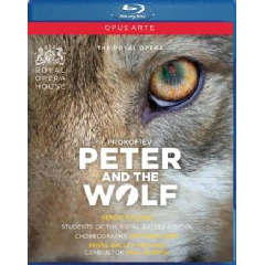 Prokofiev:Peter & the Wolf - (Region A Import Blu-ray Disc)
