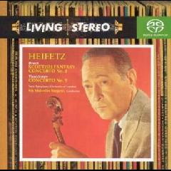 Heifetz, Jascha - Scottish Fantasy Concerto No.1 / Concerto No.5