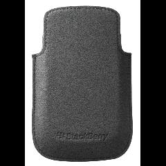 BlackBerry 9320 - Microfiber Pocket - Black and Grey