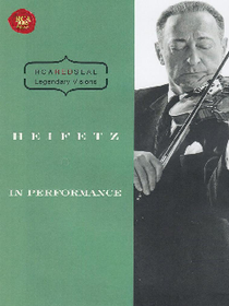 Heifetz in Performance - (Region 1 Import DVD)