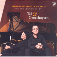 Tal & Groethuysen - Piano Works For 4 (CD)