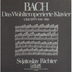 Richter, Svjatoslav-bach - Wohltemperierte Klavier846-869 (CD)