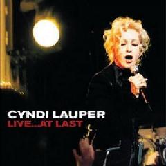 Lauper, Cyndi - Live At Last (DVD)
