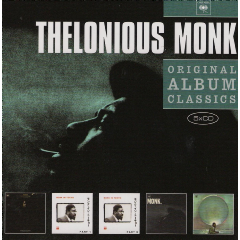 Monk Thelonious - Original Album Classics - Misterioso / Monk In Tokyo Part 1 / Monk In Tokyo - Part 2 / Monk / Monk's Blues (CD)