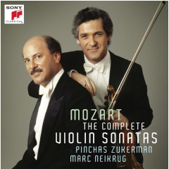 Zukerman Pinchas - The Mozart Sonatas For Violin And Piano (CD)