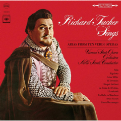 Tucker, Richard - Richard Tucker Sings Arias From Ten Verdi Operas (CD)