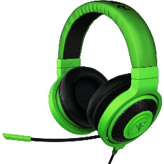 Razer - Kraken Pro Over-ear Gaming Wired Headset with Mic - Green