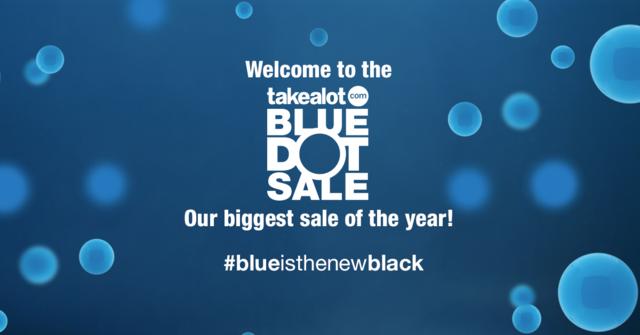 Blue Dot Sale Feature Image