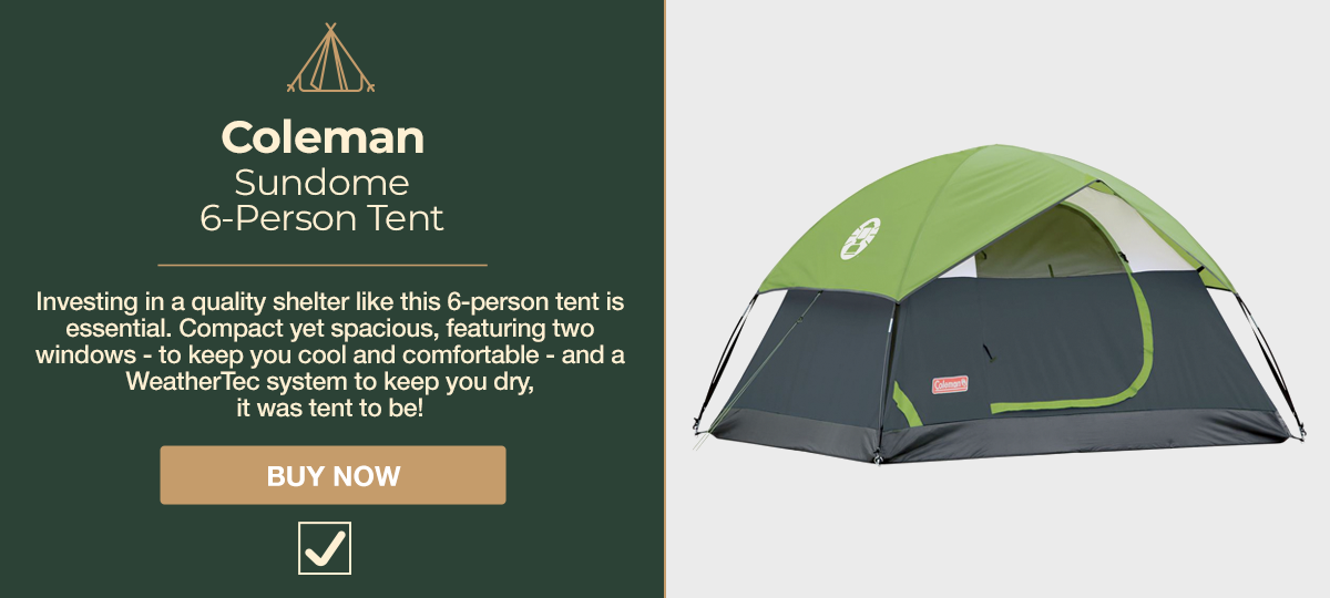 Camping Coleman Tent