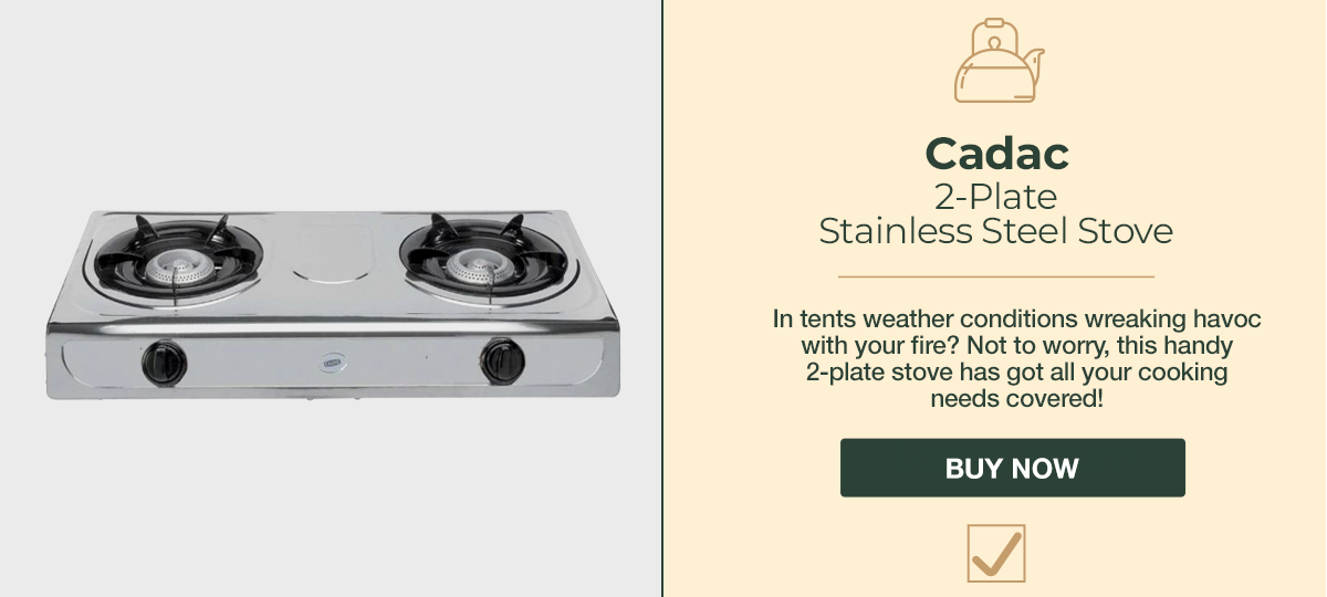 Camping Cadac Stainless Steel Stove