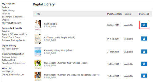 How do i get my ebook onto my device to read it takealot digital library fandeluxe Gallery