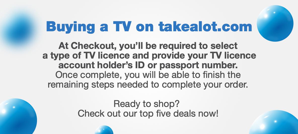 Takealot BDS TV Sale