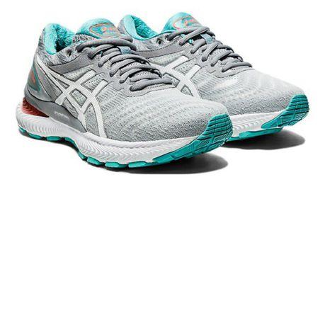 Asics Women Gel-Nimbus 22 Road Running Shoes - Grey