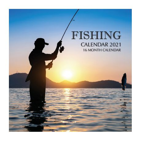 Fishing Calendar 2021 16 Month Calendar Buy Online In South Africa Takealot Com