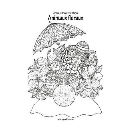Livre De Coloriage Pour Adultes Animaux Floraux 1 2 Buy Online In South Africa Takealot Com
