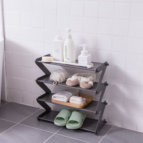 Z-Shaped Layered Shoe Rack | Buy Online in South Africa | takealot.com