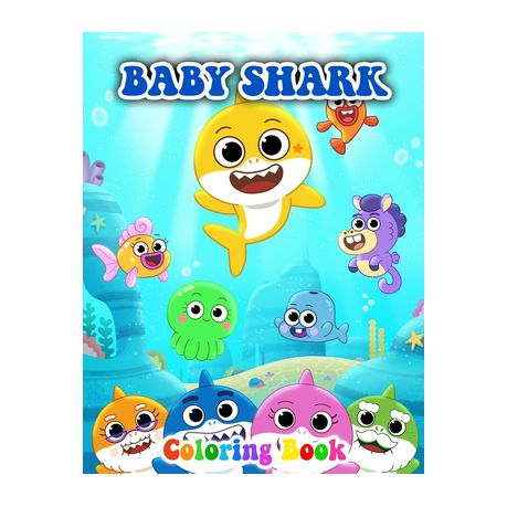 Baby Shark Coloring Book Buy Online In South Africa Takealot Com