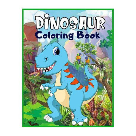 Dinosaur Coloring Book Coloring Book For Grown Ups A Dinosaur Coloring Pages Dinosaur Coloring Book For Christmas Gifts Simple Dinosaur C Buy Online In South Africa Takealot Com