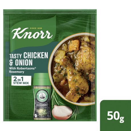 Knorr Tasty Chicken Onion With Robertsons Rosemary Soup 10x50g Buy Online In South Africa Takealot Com