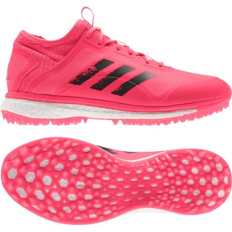 adidas hockey junior hockey shoes 2018 pink/grey