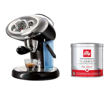 illy Francis Francis X7.1 Hypo Capsule Coffee Machine with Regular Capsules