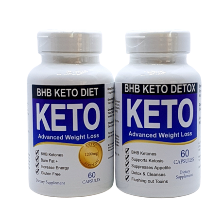 Keto Diet Pills Carb Blocker And Appetite Suppressant With Bhb Detox Combo Buy Online In South Africa Takealot Com