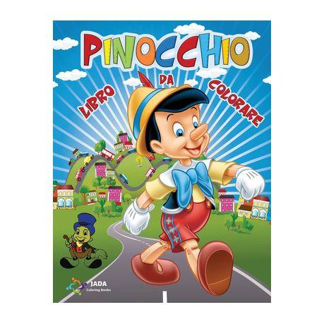 Pinocchio Libro Da Colorare 50 Immagini Di Pinocchio Da Colorare Per Tutti I Bambini Geppetto Il Grillo Parlante La Fata Turchina E Tutti I Pro Buy Online In South Africa Takealot Com