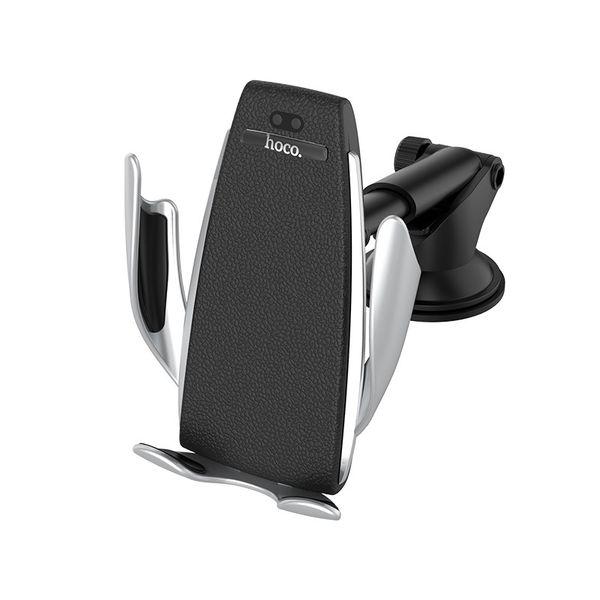 Hoco Elegant automatic induction wireless charging car holder
