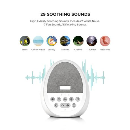 Little Weasel White Noise Machine Sleep Sound Speaker And Night Light Buy Online In South Africa Takealot Com