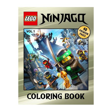 Lego Ninjago Coloring Book Vol1: Interesting Coloring Book With 40 Images  For Kids Of All Ages With Your Favorite