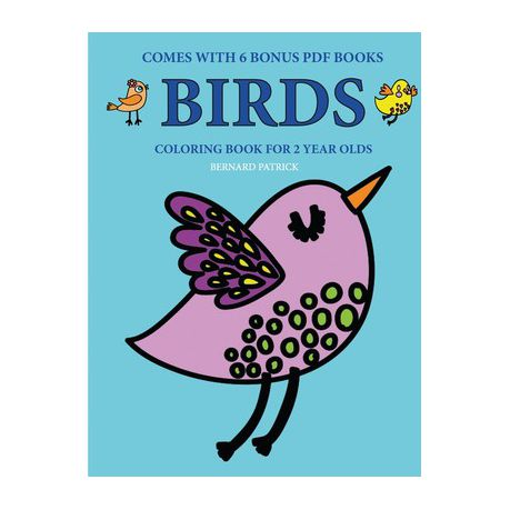 Coloring Books For 2 Year Olds (Birds) Buy Online In South Africa  Takealot.com