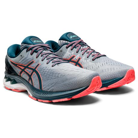 Asics Men Gel-Kayano 27 Road Running Shoes - Grey