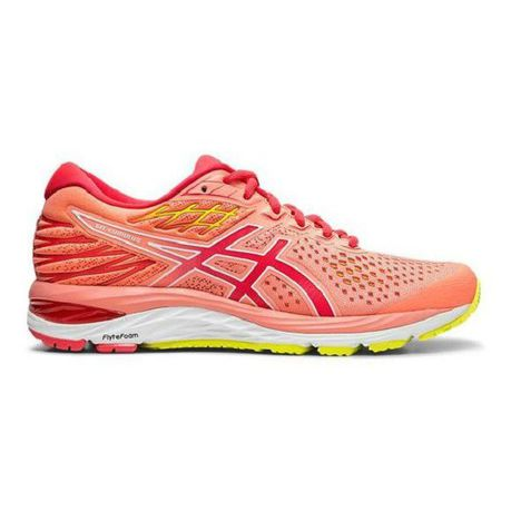 Instantáneamente Dialecto Peluquero  Asics Women Gel Cumulus 21 Road Running Shoes Sun Coral | Buy Online in  South Africa | takealot.com