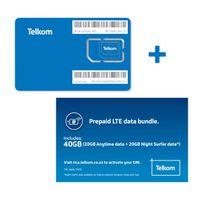 Telkom Lte Prepaid 20gb 20gb Sim Only Buy Online In South Africa Takealot Com