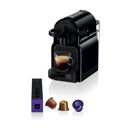 NESPRESSO Inissia Coffee Machine - Black
