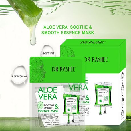 Dr Rashel Aloe Vera Soothe & Smooth Essence Mask 25g - Pack of 5 | Buy  Online in South Africa | takealot.com