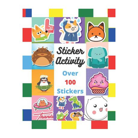 Sticker Activity Over 100 Stickers Ith Coloring Pages Sticker Activity Fun Buy Online In South Africa Takealot Com