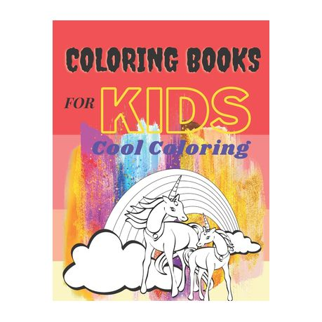 Coloring Books For Kids Cool Coloring: Coloring Books For Kids Pages, Size  8.5x11 Inch, 32 Pages For Girls & Boys Aged 6-12: Cool Coloring Pages & Ins  Buy Online In South