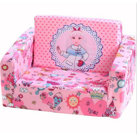 2 In 1 Foldable Children Kids Foam Sofa, Sofa Beds For Kids