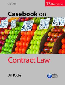 Casebook On Contract Law Th Ed Buy Online In South Africa - Online contract law
