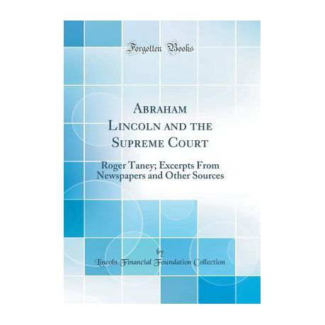 Abraham Lincoln And The Supreme Court Buy Online In South Africa