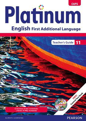 platinum caps english first additional language grade 11 teacher s rh takealot com 11 Grade English Lesson Plans 11 Grade School English Syllabus Sri Lanka