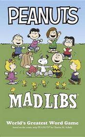 Peanuts Mad Libs